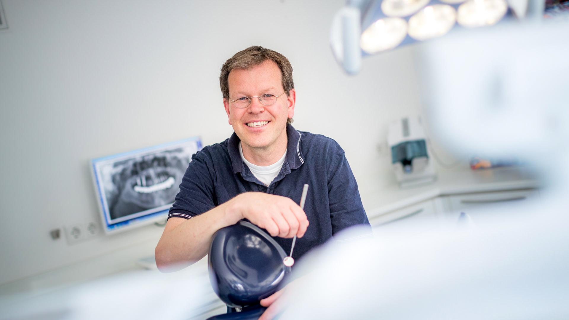 Dr. Jörg Drobner, Zahnarzt aus Dülmen