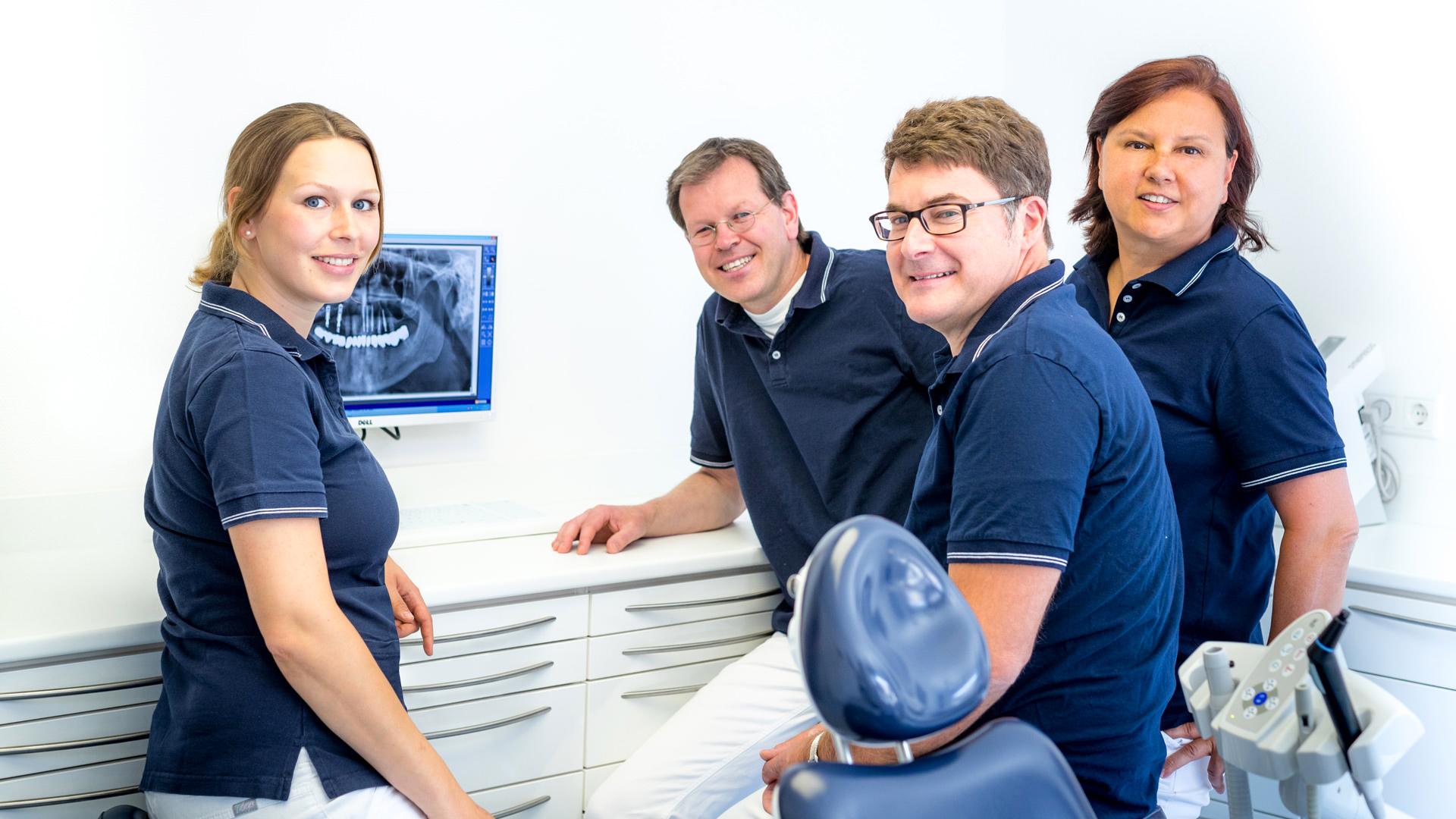 Das Ärzteteam unsere zahnärztlichen Gemeinschaftspraxis in Dülmen