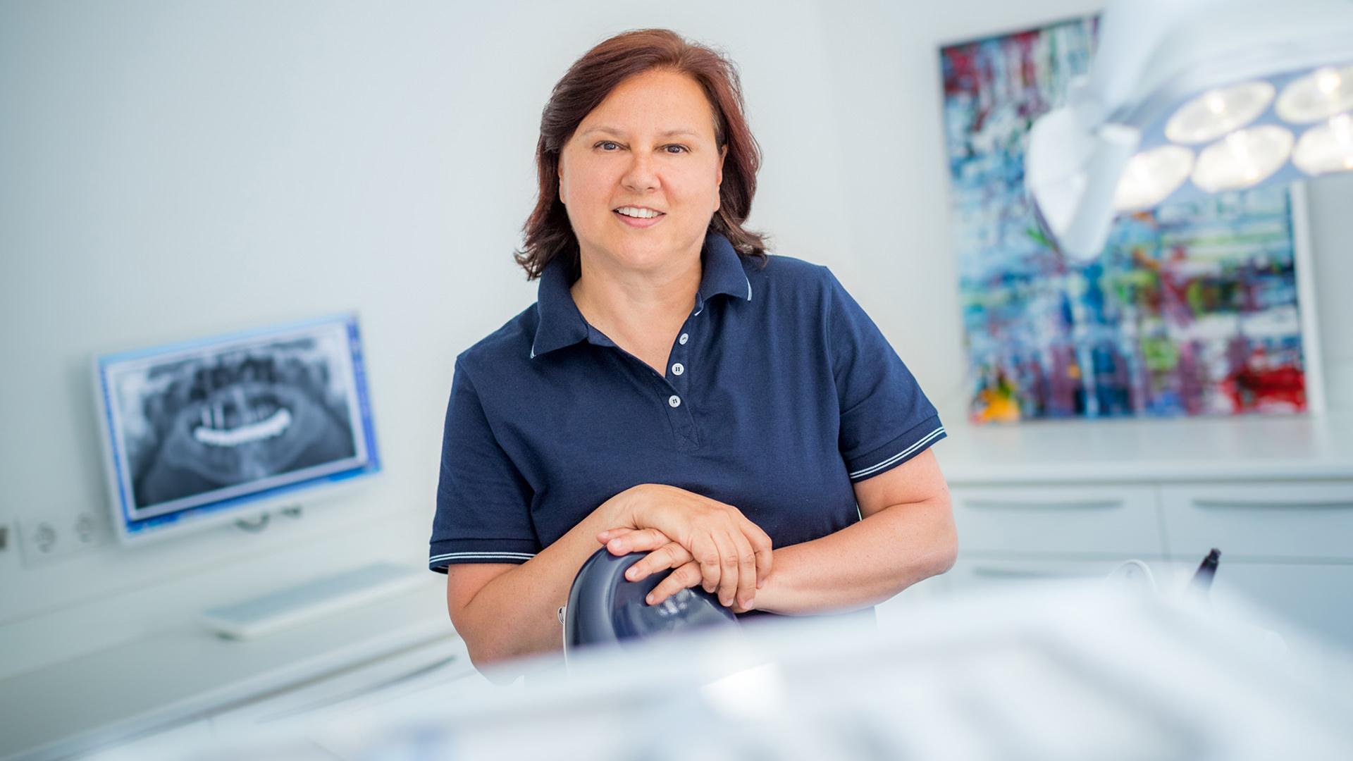 Silvia Rüdiger, Zahnärztin in unserer Gemeinschaftspraxis in Dülmen