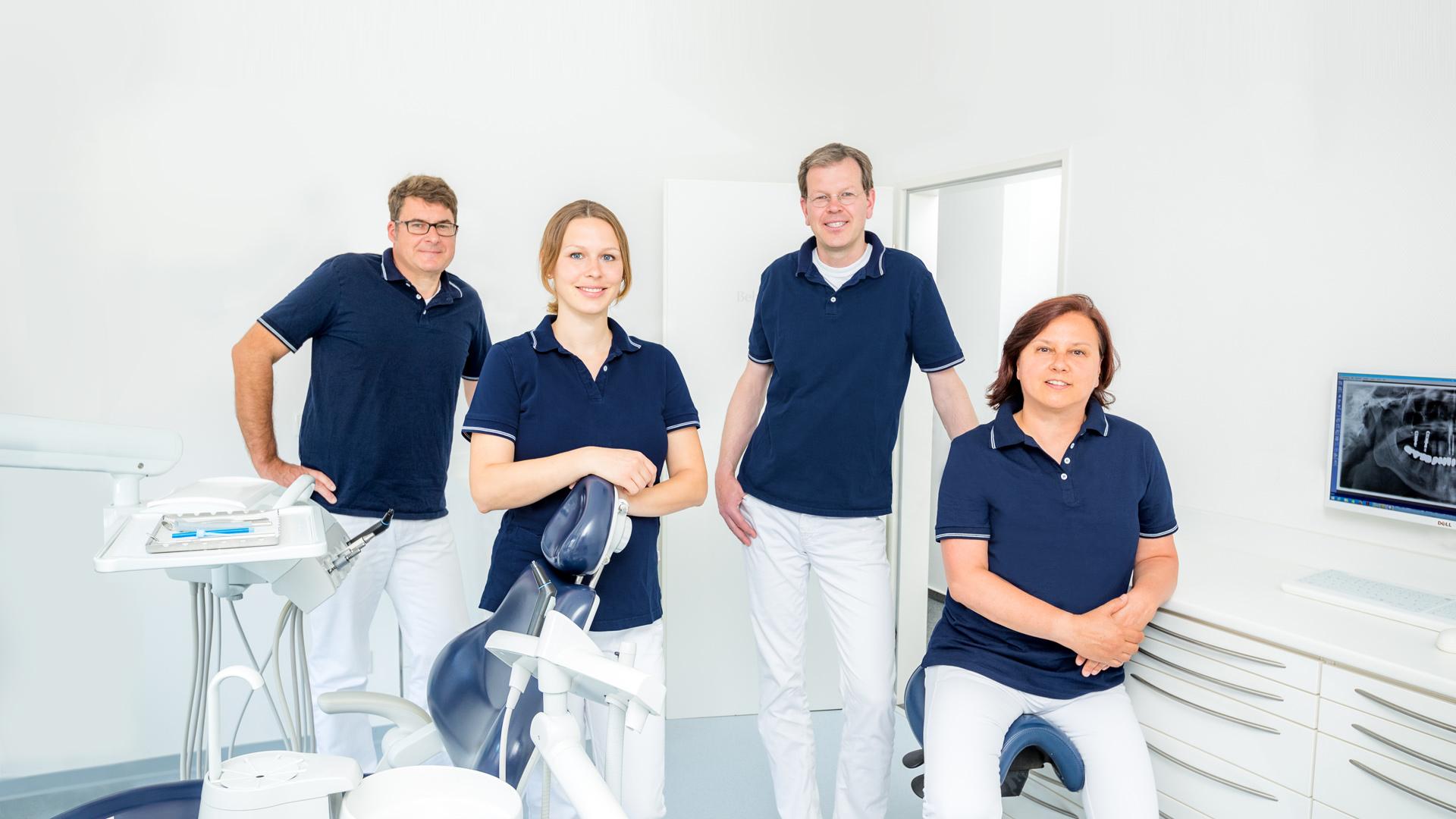Willkommen in der zahnärztlichen Gemeinschaftspraxis von Dr. Drobner & Dr. Schulte in Dülmen