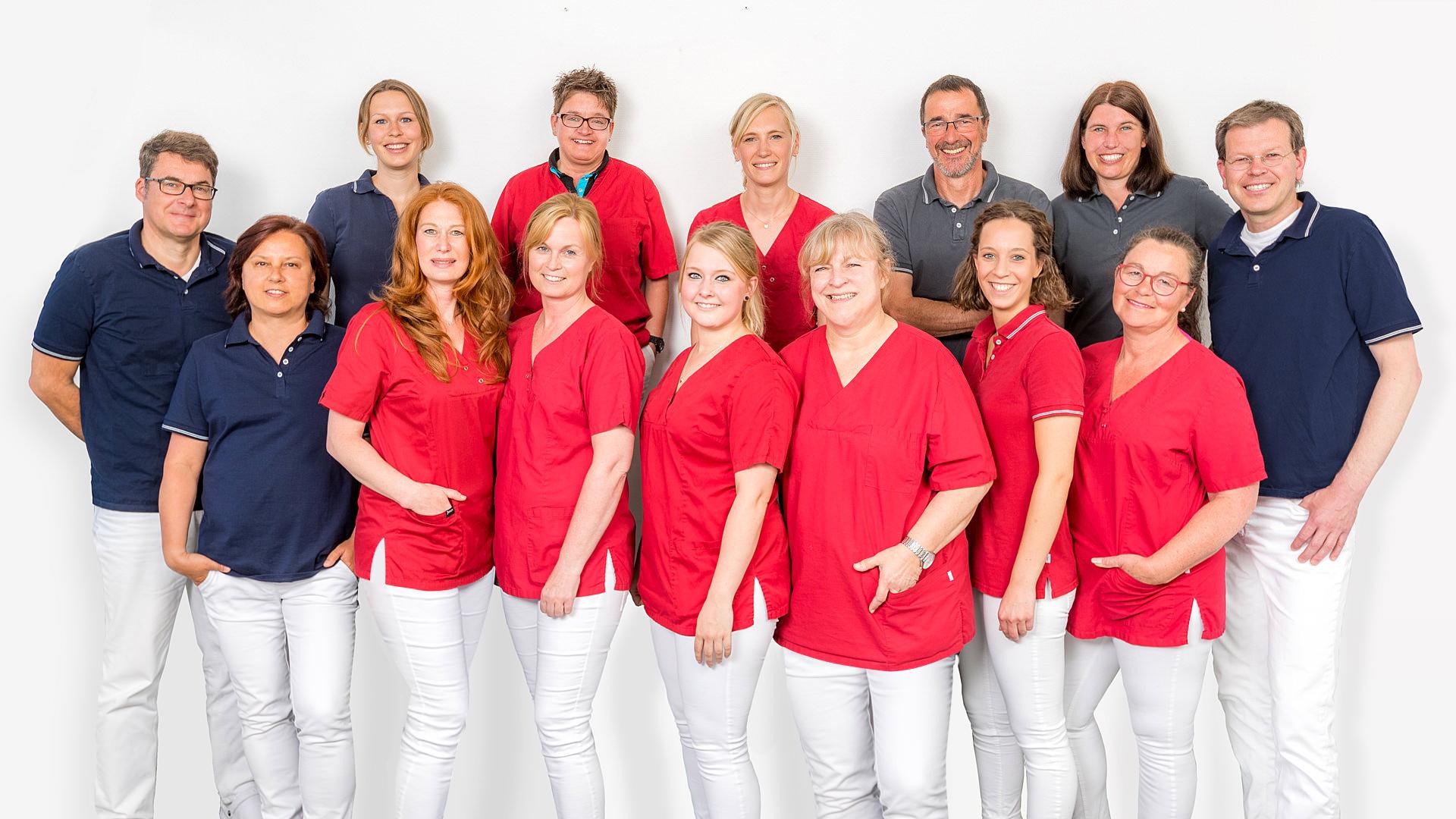 Das Team unserer Zahnarztpraxis in Dülmen